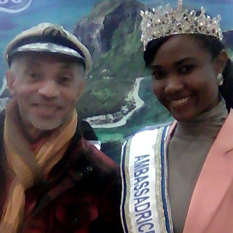 Salon Mondial du Tourisme /Paris - stands Tropiques - Miss Rodrigues et Ile Maurice