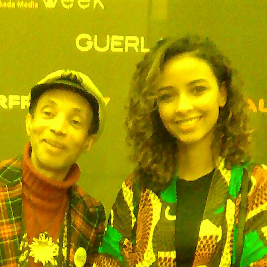Nollywood festival - avec Miss France 2014 ( Flora Coquerel )