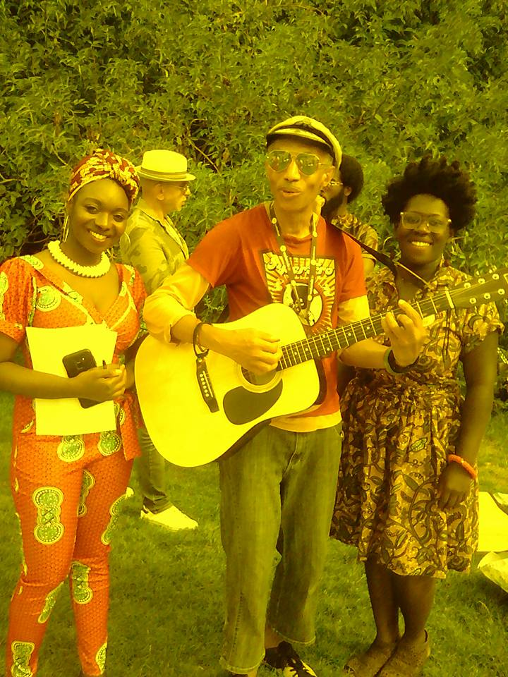 garden party My afro week aoyut 2019 / parc Villette