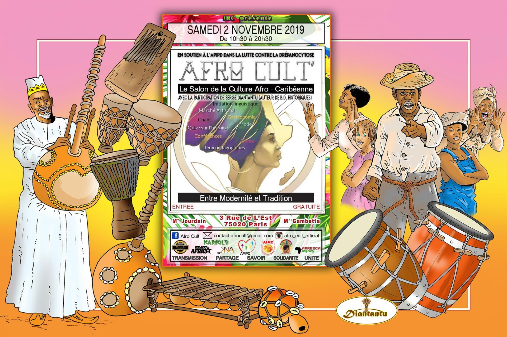 AFRoCULT Paris